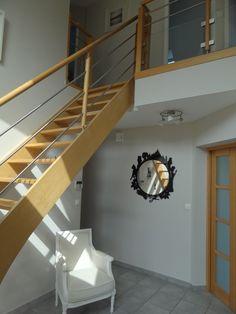 Modern crystal chandelier stair long spiral crystal chandelier lighting fixtu - Maison avec vide sur salon ...