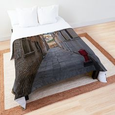 Promote | Redbubble Bed, Furniture, Home Decor, Venice Italy, City, Decoration Home, Stream Bed, Room Decor, Home Furnishings
