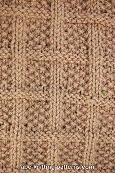 #Free #Knitting #Pattern - Lattice Baby Blanket.