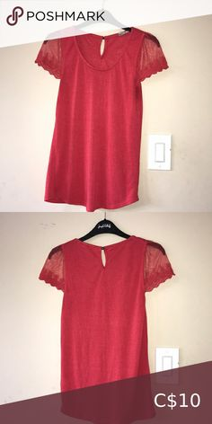 Shirt Cute!! Has been worn but 8/10 condition Tops Tees - Short Sleeve Red White And Brew, Blue And White, Daytona Beach Bike Week, New Look Inspire, American Eagle Shirts, Flowy Tops, Vintage Tees, Skirt Set, Pink Ladies
