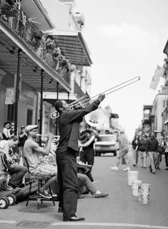 Jazz Musician in New Orleans