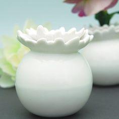 Mini Porcelain Flower Vases by Beau-coup