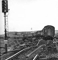 Disused Stations: Chevington Station Old Train Station, Disused Stations, Steam Railway, Railroad Photography, Old Trains, British Rail, Steam Locomotive, Old Photos, Railroad Tracks