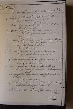 Den 10 April 1729.  George Frederijk Straus van Straatsborg Borger aan de Kaap…