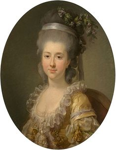LOUISE ELISABETH VIGEE-LEBRUN - Urszula 1. voto Potocka 2. voto Mniszech nee Zamoyska, 1776