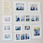 Thumbnail image for {Photo Wall Layout with Monogram}