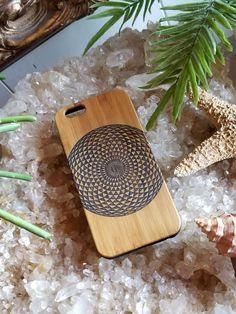 Geometric Eye bamboo wood iPhone case for iPhone 6 iPhone 6s