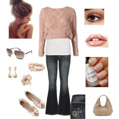 Super Cute Sunny but Chilly Spring Day :), created by sbyers1033.polyvore.com