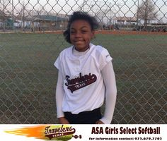 """Zariah or """"Z"""" to her Texas Travelers Teammates is number 24 and plays Outfield and Shortstop. She is currently in the fifth grade at Rugel Elementary. Z has played 3 years of select softball spending the last two with the Travelers organization. Her favorite player is Lindsey Stephens, Big 12 sensational utility player for the University of Texas."""