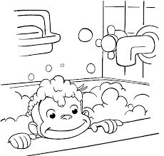 monkey coloring pages free printable google search