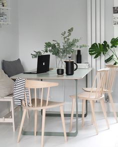 Home Interior Planning Projects. Want to make your home feel like new? Would like to increase the attractiveness and selling ability of your property? It is much easier and less costly than you may realise. Simple Interior, Interior Design Tips, Interior Decorating, Decorating Ideas, Decor Ideas, Ypperlig Ikea, Grey Ikea Kitchen, Hay Chair, Simple House