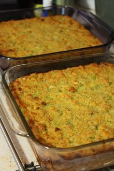Louisiana Cornbread Dressing