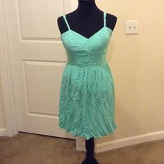 Candies mini dress! In good used condition, the dress does have the option to wear a belt. Mint color Candie's Dresses Mini