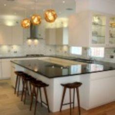 cool 65 Inspiring U Shaped Kitchen Ideas with Breakfast Bar