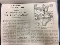 "We have lots of information about the Welland Canals! That includes magazine and journal articles. Canada's Contribution to the Waterways - ""The Welland Canal"". Shipping Register and Shipbuilder Vol. 14 no. Lake Erie, Local History, Articles, Canada, Journal, Magazine, Magazines, Journals"