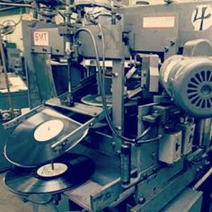 I Remember These Heavy Presses at the Vinyl Record Production. Back Then I was Working at Sony Music :-)