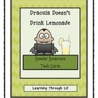 Bailey School Kids DRACULA DOESN'T DRINK LEMONADE * Reader Response Task Cards  Higher-order, quality questions from each chapter, including content and academic vocabulary.  * Perfect for partner/group discussions, literatur...