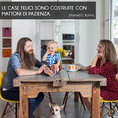 I mattoni principali che sostengono una casa sono i legami familiari e Erica Casa lo sa bene, per questo pensa ad ogni suo membro. #ericacasa #arredamento #quotes