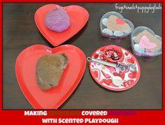 "Cherry & chocolate play dough ("",)"