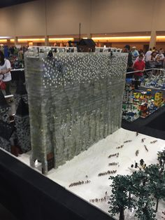 Lego Model of the Wall from Game of Thrones - Album on Imgur