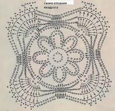 Graficos y Crochet: Tunica en gris