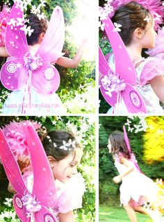 How to make fairy wings - Pattern