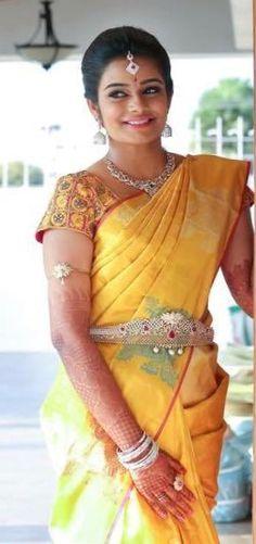 indian,srilankan wedding, bride, saree, hairstyle on Pinterest   South
