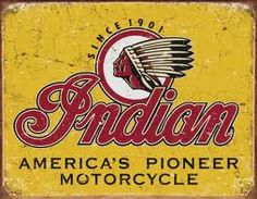 Dad rode and Indian in the 50s