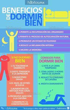 Beneficios de dormir bien!!!