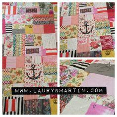 Custom Memory Quilts | www.facebook.com/heartandsewshop