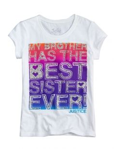 Best Sister Ever Graphic Tee