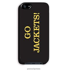 Georgia Tech Go Jackets iPhone 5 Case