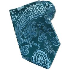 Charvet Paisley Silk Tie ($245) ❤ liked on Polyvore featuring accessories, scarves, charvet, woven scarves, paisley scarves, tying silk scarves and paisley shawl