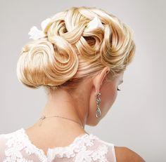Intricate wedding hair up-do