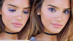 Makeup Hacks Online – Hair and beauty tips, tricks and tutorials Fiber Lash Mascara, Mascara Tips, How To Apply Mascara, Purple Mascara, Blue Eyeliner, Eyeliner Makeup, Ysl Beauty, Makeup Looks