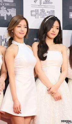APink BoMi and NaEun
