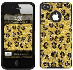Otter Box for iPhone 4. Go a little wild and crazy for Cheetah!