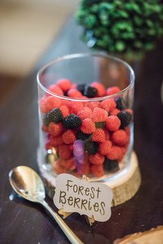 Forest berries from an Enchanted FOURest Birthday Party on Kara's Party Ideas | KarasPartyIdeas.com (35)