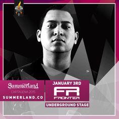 Frontier  Dj Confirmado  Summerland 2015