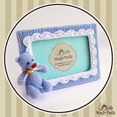 magicdolls: Baby PhotoFrame Blue