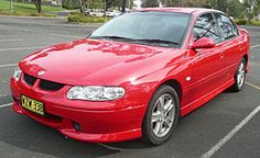2000-2001 Red Holden VX Commodore S