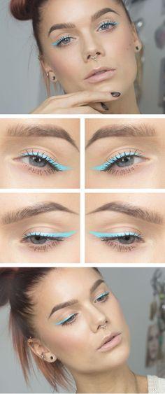 brow, eyes, and makeup image