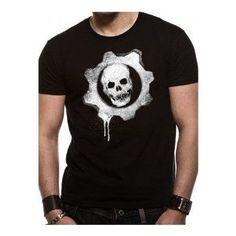 Gears Of War 3 Dripping Wheel T-Shirt (XL) Cotton T-Shirt (Barcode EAN=5055057237683) http://www.MightGet.com/march-2017-1/gears-of-war-3-dripping-wheel-t-shirt-xl-.asp