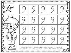 9 rakamı yazma