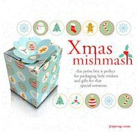 free printable Christmas gift boxes and treat bags – ausdruckbare Geschenkschachteln   MeinLilaPark