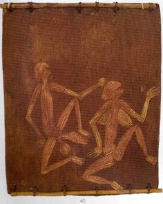 Lofty Nabardayal Bark painting     Lofty Nabardayal was one of the best and most prolific Aboriginal bark painters from Oenpelli