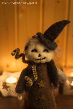 Felt Halloween Pumpkin TheDustyRabbit