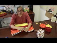 Tapete Rectangular de Trapillo Vegetables, Youtube, Trapillo, Mandalas, Crocheting, Tejidos, Zapatos, Vegetable Recipes, Youtubers