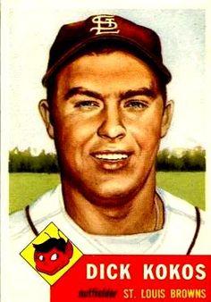 232 - Dick Kokos - St. Louis Browns