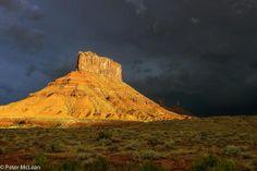 Moab, Utah.  Before the storm.  Taken by my friend, Mac